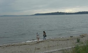 alki-beach Seattle