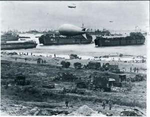 spiaggia D-Day, Normandia