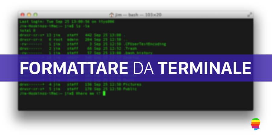 formattare-disco-mac-terminale