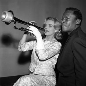 jeanne-moreau-et-miles-davis-en-1957