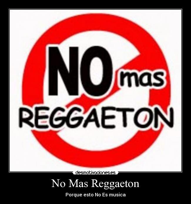 no-reggaeton